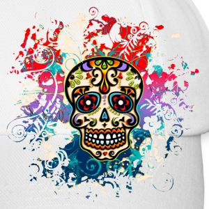 Mexican Sugar Skull - Day of the Dead T-Shirts - Baseball Cap