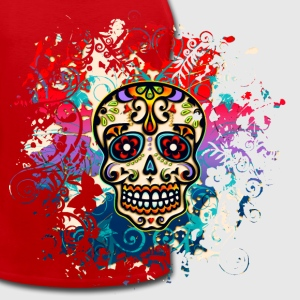 Mexican Sugar Skull - Day of the Dead T-Shirts - Men's Premium Tank Top