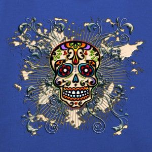 Mexican Sugar Skull - Day of the Dead T-shirts - Premium-Luvtröja barn