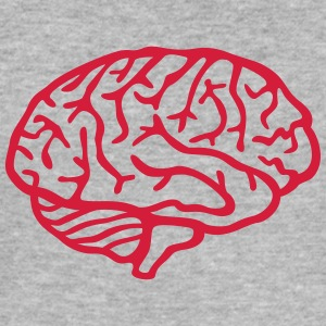 Brain Hoodies & Sweatshirts - Men's Slim Fit T-Shirt