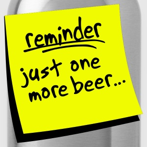reminder beer - Water Bottle