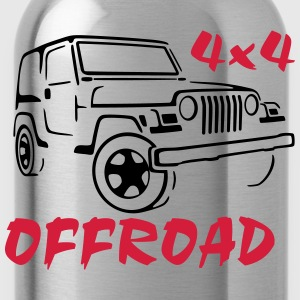 4x4 Offroad Jeep T-Shirt - Water Bottle