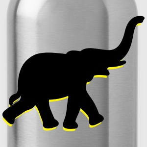 Elephant (2c)++2013 T-Shirts - Water Bottle