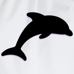 Dolphin (2c)++2013 T-Shirts - Turnbeutel