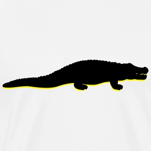 Crocodile (2c)++2013 Hoodies & Sweatshirts - Men's Premium T-Shirt