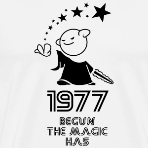 1977 the best year - Männer Premium T-Shirt