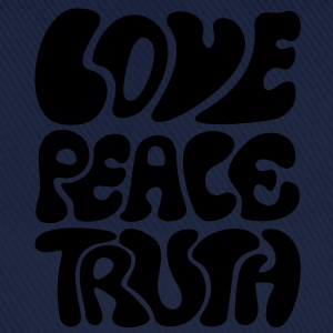 Love Peace Truth Lifestyle 70s Goa Tee shirts - Casquette classique