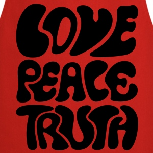 Love Peace Truth * Lifestyle 70s T-Shirts Goa T-Shirts - Cooking Apron