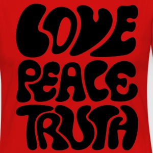 Love Peace Truth * Lifestyle 70s T-Shirts Goa Tee shirts - T-shirt manches longues Premium Femme
