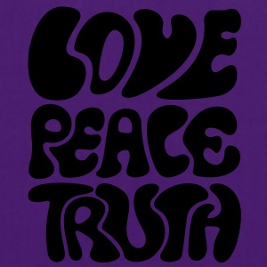 Love Peace Truth * Lifestyle 70s T-Shirts Goa Shirts - Tas van stof