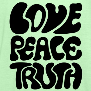 Love Peace Truth * Lifestyle 70s T-Shirts Goa Sweat-shirts - Débardeur Femme marque Bella