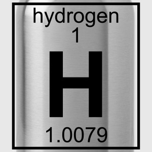 Periodic table element 1 - H (hydrogen) - BIG Tee shirts - Gourde
