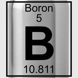 Periodic table element 5 - B (boron) - BIG Koszulki - Bidon