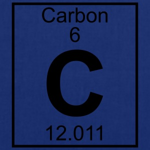 Periodic table element 6 - C (carbon) - BIG T-shirts - Mulepose