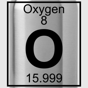 Periodic table element 8 - O (oxygen) - BIG Koszulki - Bidon