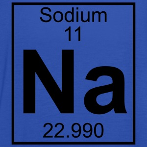 Periodic table element 11 - Na (sodium) - BIG T-shirts - Tanktopp dam från Bella