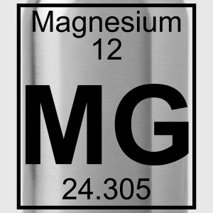 Periodic table element 12 - Mg (magnesium) - BIG Koszulki - Bidon