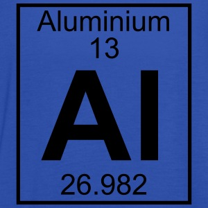 Periodic table element 13 - Al (aluminium) - BIG T-shirts - Tanktopp dam från Bella