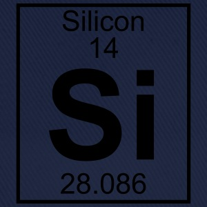 Periodic table element 14 - Si (silicon) - BIG T-shirts - Basebollkeps