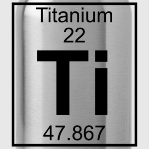 Periodic table element 22 - Ti (titanium) - BIG Koszulki - Bidon