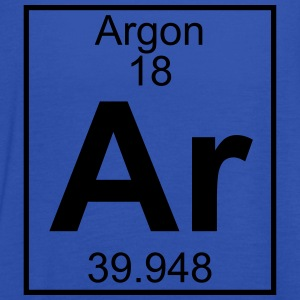 Periodic table element 18 - Ar (argon) - BIG T-skjorter - Singlet for kvinner fra Bella