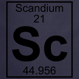 Element 21 - Sc (scandium) - Full T-Shirts - Cooking Apron