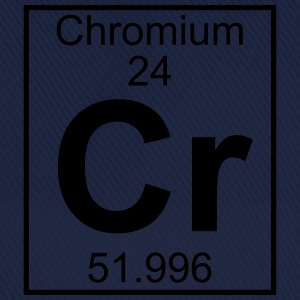 Periodic table element 24 - Cr (chromium) - BIG T-shirts - Basebollkeps