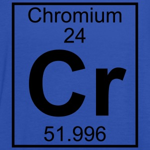 Periodic table element 24 - Cr (chromium) - BIG T-shirts - Dame tanktop fra Bella
