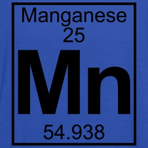 Periodic table element 25 - Mn (manganese) - BIG T-shirts - Tanktopp dam från Bella