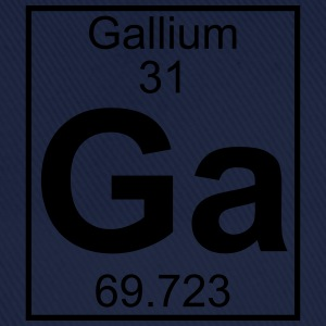 Periodic table element 31 - Ga (gallium) - BIG T-skjorter - Baseballcap