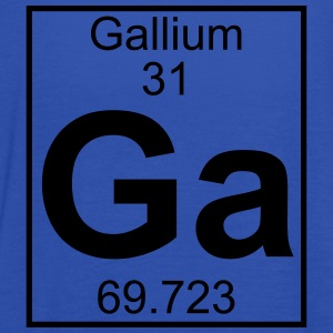 Periodic table element 31 - Ga (gallium) - BIG T-shirts - Dame tanktop fra Bella