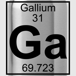 Periodic table element 31 - Ga (gallium) - BIG Koszulki - Bidon