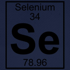 Periodic table element 34 - Se (selenium) - BIG T-shirts - Baseballcap