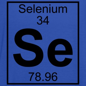Periodic table element 34 - Se (selenium) - BIG T-shirts - Dame tanktop fra Bella