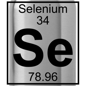Periodic table element 34 - Se (selenium) - BIG Koszulki - Bidon