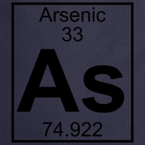 Periodic table element 33 - As (arsenic) - BIG Koszulki - Fartuch kuchenny