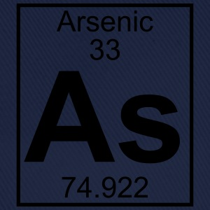 Periodic table element 33 - As (arsenic) - BIG T-skjorter - Baseballcap