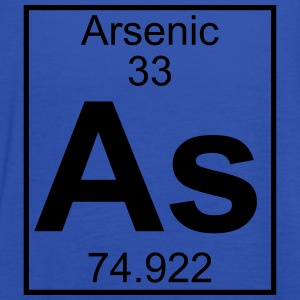 Periodic table element 33 - As (arsenic) - BIG T-skjorter - Singlet for kvinner fra Bella