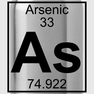 Periodic table element 33 - As (arsenic) - BIG T-shirts - Vattenflaska