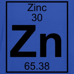 Periodic table element 30 - Zn (zinc) - BIG T-shirts - Dame tanktop fra Bella