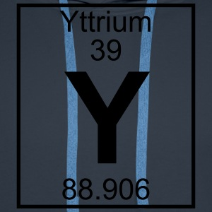Periodic table element 39 - Y (yttrium) - BIG T-shirts - Herre Premium hættetrøje