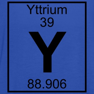 Periodic table element 39 - Y (yttrium) - BIG T-shirts - Dame tanktop fra Bella