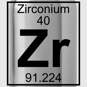 Periodic table element 40 - Zr (zirconium) - BIG Koszulki - Bidon