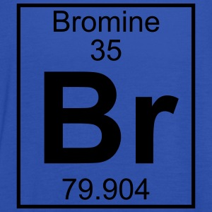 Periodic table element 35 - Br (bromine) - BIG T-skjorter - Singlet for kvinner fra Bella