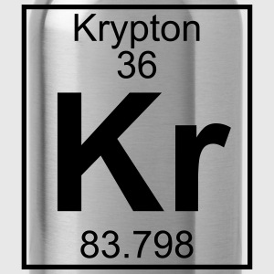 Periodic table element 36 - Kr (krypton) - BIG Koszulki - Bidon