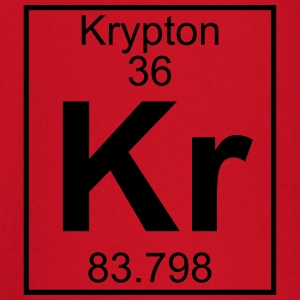 Periodic table element 36 - Kr (krypton) - BIG T-skjorter - Langarmet baby-T-skjorte