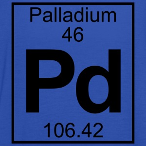 Periodic table element 46 - Pd (palladium) - BIG T-skjorter - Singlet for kvinner fra Bella
