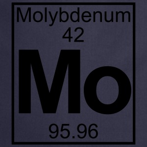 Periodic table element 42 -   (molybdenum) - BIG T-shirts - Forklæde