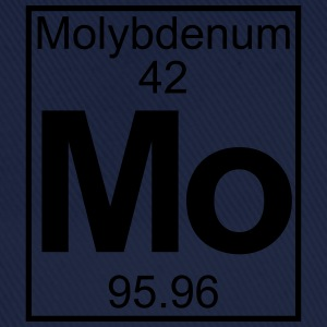 Periodic table element 42 -   (molybdenum) - BIG T-skjorter - Baseballcap