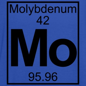 Periodic table element 42 -   (molybdenum) - BIG T-shirts - Dame tanktop fra Bella